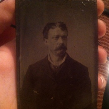 Man with mustache