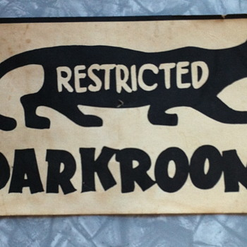 Darkroom cardboard add.