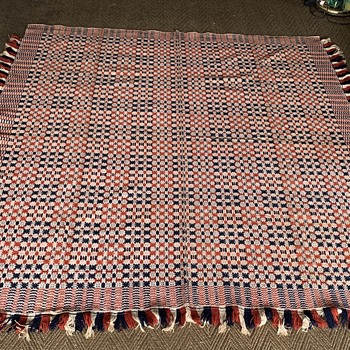 Today's Vintage Textile Finds - Rugs and Textiles