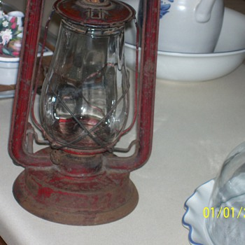 Nice old lantern - Lamps