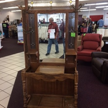 Reproduction Victorian Hall Tree - Furniture