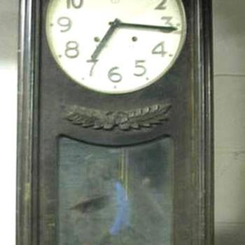 Oversized Vintage 'Nippon' Wall Clock  - Clocks