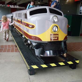 Lackawanna RR Park Train, Scranton, PA - Railroadiana