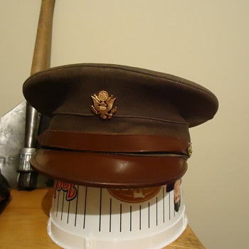 WWII US Army enlisted mans hat? - Military and Wartime