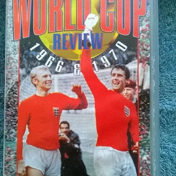 1966-the world cup-vhs video cassette.