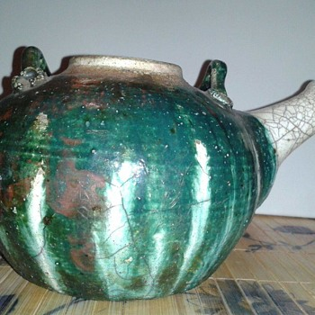 Antique Chinese Teapot - Asian