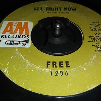 45 RPM SINGLE....#67 - Records