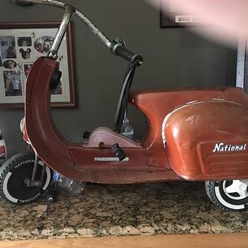 Vespa Style Pedal Scooter - Toys