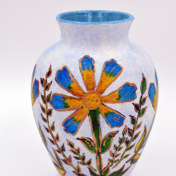 Hand Painted Little Vase - Pottery