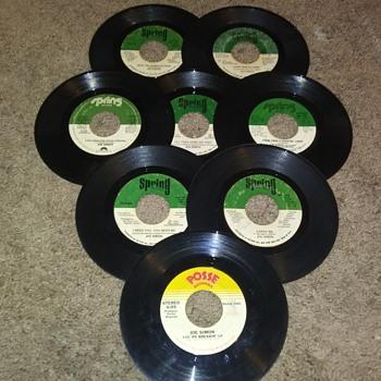 45 RPM SINGLE(S)....#188-#195 - Records