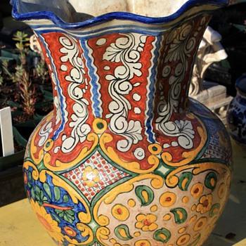 Talavera Vase - Pottery