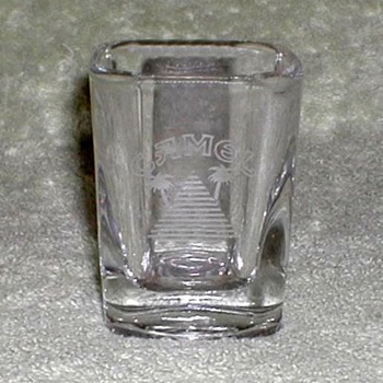 """Camel"" Emblem Shotglass - Advertising"