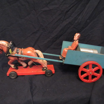 Horse and Cart - Toys