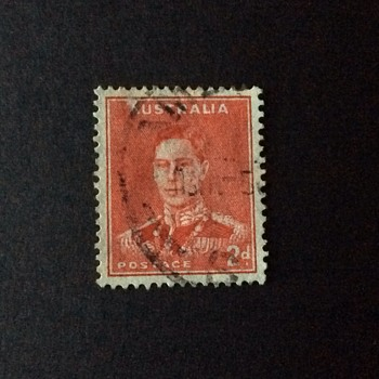 Old Aussie stamp - Stamps