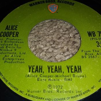 Alice Cooper...On 45 RPM Vinyl - Records