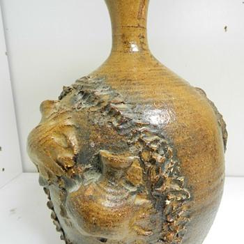 Interesting '73 Studio Pottery Vase - Help With Signature? - Pottery
