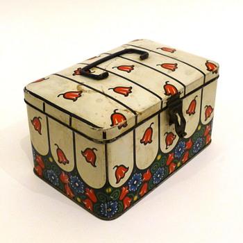 Jugendstil box / keksdose - Kitchen