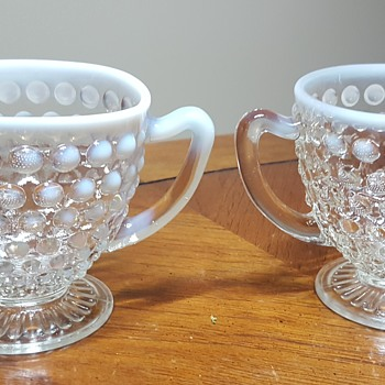 Sugar and Creamer - Glassware