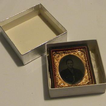 Cased Tintype of Thomas Alvis - Photographs