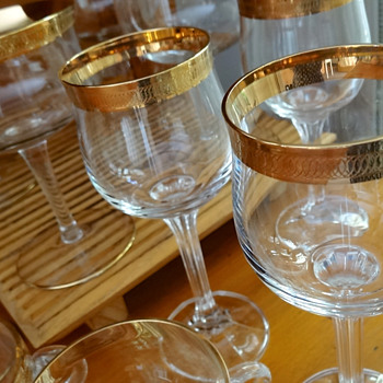 VINTAGE BOHEMIA STEMWARE MIX - Glassware