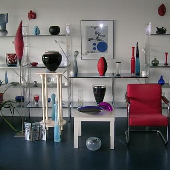 living room - Art Glass