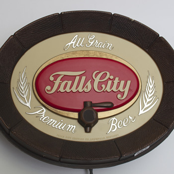 Falls City Brewing Company Lighted Promo Sign - Breweriana