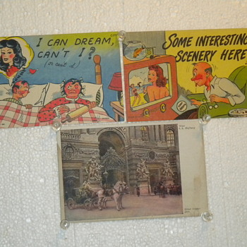 Postcards, Some from World War 2 - Postcards