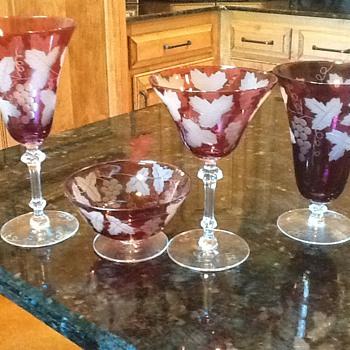 wedding gift - Glassware