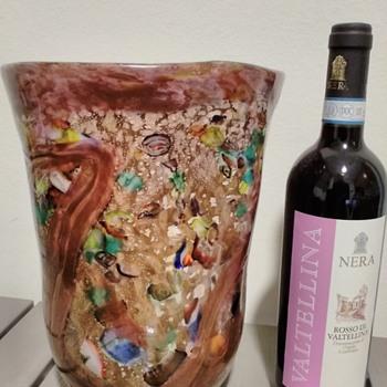 millefiore vase - Art Glass