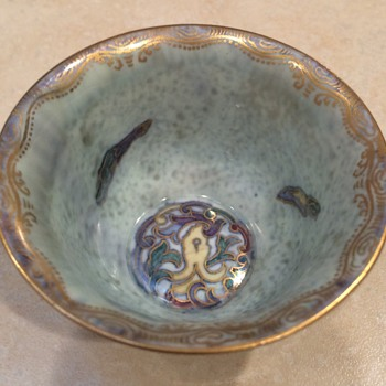 Vintage Wedgwood  Fairyland Luster  Dragon Bowl
