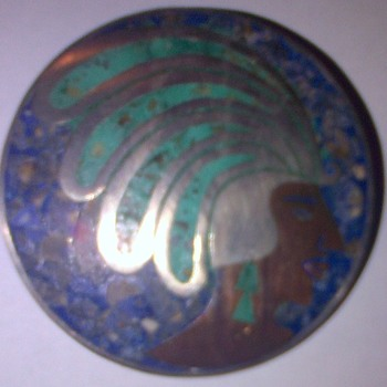 Broach Silver