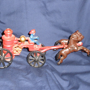Metel Fire Pump - Toys