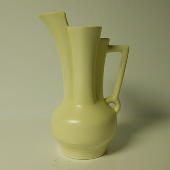 Yard Sales Find 4 of 10, Art Deco Beswick Pitcher Vase, Circa 1935-40 - Pottery