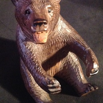 Black Forest Bear - Folk Art