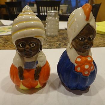Salt & pepper shakers - Arabian?