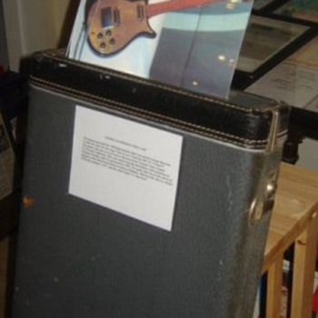 George Harrison used guitar case...