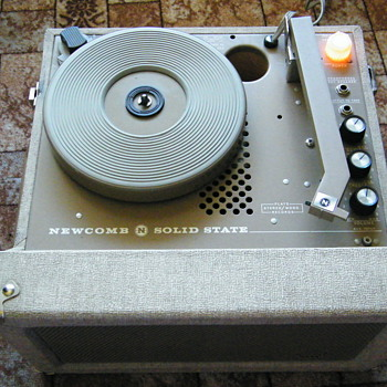 Vintage School record player - Records