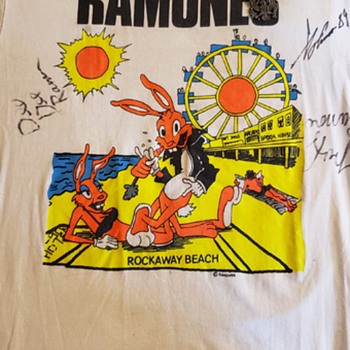 Ramones concert Stony Brook University  - Mens Clothing