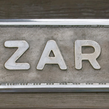Lazarus Department Store, Wilkes-Barre, PA, Window Display Sign - Advertising
