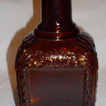 Dark Amber bottle, repro or original? - Bottles