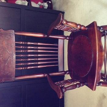 My Grandmother's rocker - Furniture