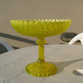 Vaseline Glass George Davidson? - Glassware