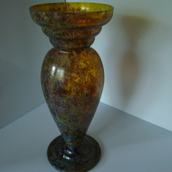 Mimosa glass vase - Art Glass