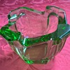Uranium glass ashtray?