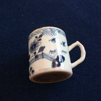 old possibly english delft? - China and Dinnerware