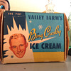 Bing Crosby Ice Cream box
