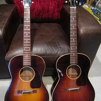 1943 Gibson LG2 Banner guitar - Guitars