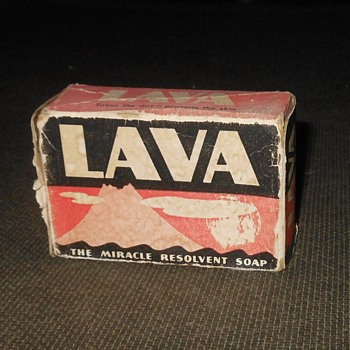 Vintage Lava Soap In Box With Instructions - Advertising