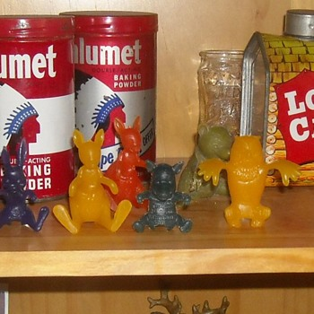Winnie the Pooh Spoon Sitters Nabisco Cereal Premiums - Toys