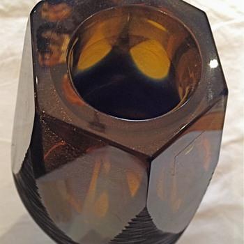 F. Dei Rossi Glass Vase - Art Glass